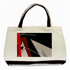 Artistic abstraction Basic Tote Bag (Two Sides)