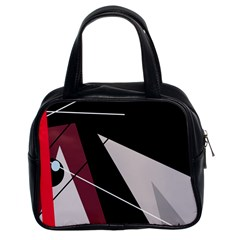 Artistic abstraction Classic Handbags (2 Sides)