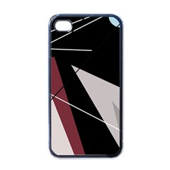 Artistic abstraction Apple iPhone 4 Case (Black)