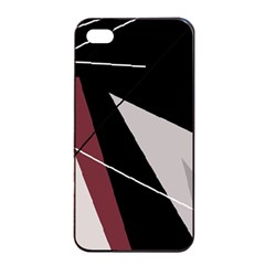 Artistic abstraction Apple iPhone 4/4s Seamless Case (Black)
