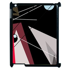 Artistic abstraction Apple iPad 2 Case (Black)