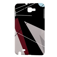 Artistic abstraction Samsung Galaxy Note 1 Hardshell Case