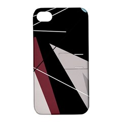 Artistic abstraction Apple iPhone 4/4S Hardshell Case with Stand