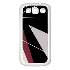 Artistic abstraction Samsung Galaxy S3 Back Case (White)