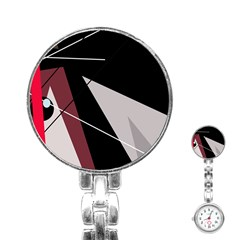 Artistic abstraction Stainless Steel Nurses Watch
