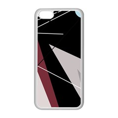 Artistic abstraction Apple iPhone 5C Seamless Case (White)