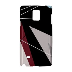 Artistic abstraction Samsung Galaxy Note 4 Hardshell Case