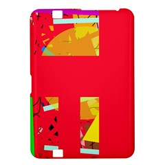 Red abstraction Kindle Fire HD 8.9