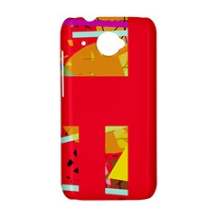 Red abstraction HTC Desire 601 Hardshell Case