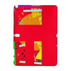 Red abstraction Samsung Galaxy Note 10.1 (P600) Hardshell Case