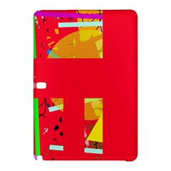 Red abstraction Samsung Galaxy Tab Pro 10.1 Hardshell Case