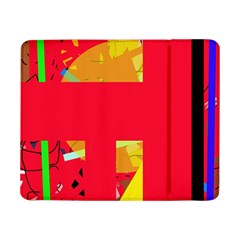 Red abstraction Samsung Galaxy Tab Pro 8.4  Flip Case