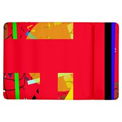 Red abstraction iPad Air Flip