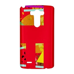 Red abstraction LG G3 Hardshell Case