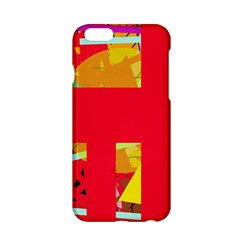 Red abstraction Apple iPhone 6/6S Hardshell Case