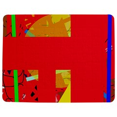 Red abstraction Jigsaw Puzzle Photo Stand (Rectangular)