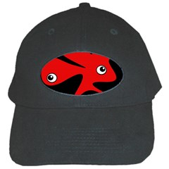 Red amoeba Black Cap