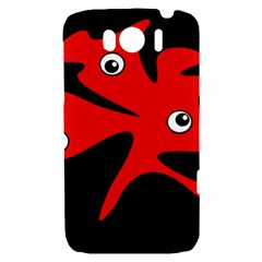Red amoeba HTC Sensation XL Hardshell Case