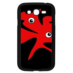 Red amoeba Samsung Galaxy Grand DUOS I9082 Case (Black)