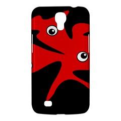Red amoeba Samsung Galaxy Mega 6.3  I9200 Hardshell Case