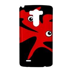 Red amoeba LG G3 Hardshell Case