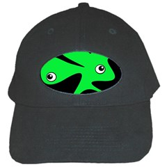 Green amoeba Black Cap