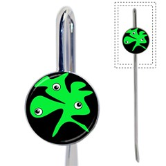 Green amoeba Book Mark