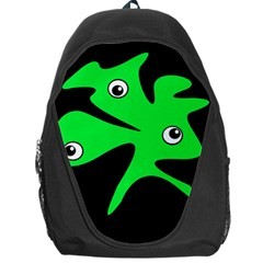 Green amoeba Backpack Bag