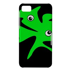 Green amoeba BlackBerry Z10