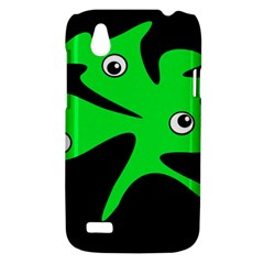 Green amoeba HTC Desire V (T328W) Hardshell Case