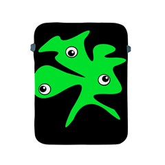 Green amoeba Apple iPad 2/3/4 Protective Soft Cases