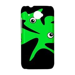 Green amoeba HTC Desire 601 Hardshell Case