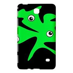Green amoeba Samsung Galaxy Tab 4 (7 ) Hardshell Case