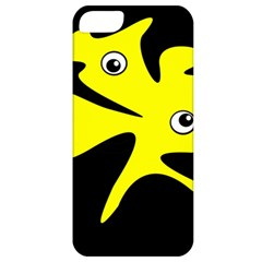 Yellow amoeba Apple iPhone 5 Classic Hardshell Case