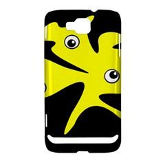 Yellow amoeba Samsung Ativ S i8750 Hardshell Case