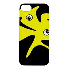 Yellow amoeba Apple iPhone 5S/ SE Hardshell Case