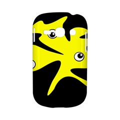 Yellow amoeba Samsung Galaxy S6810 Hardshell Case