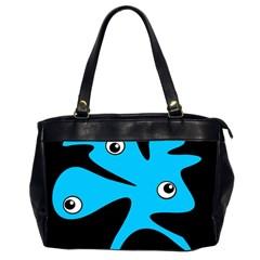Blue amoeba Office Handbags (2 Sides)