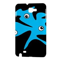Blue amoeba Samsung Galaxy Note 1 Hardshell Case