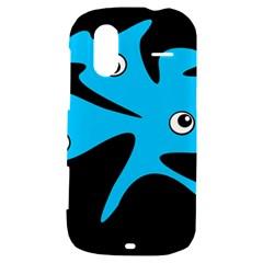 Blue amoeba HTC Amaze 4G Hardshell Case