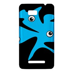 Blue amoeba HTC One SU T528W Hardshell Case
