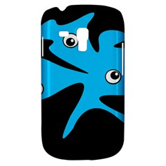 Blue amoeba Samsung Galaxy S3 MINI I8190 Hardshell Case