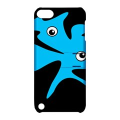 Blue amoeba Apple iPod Touch 5 Hardshell Case with Stand