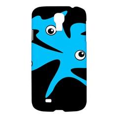 Blue amoeba Samsung Galaxy S4 I9500/I9505 Hardshell Case