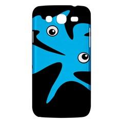 Blue amoeba Samsung Galaxy Mega 5.8 I9152 Hardshell Case