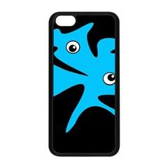 Blue amoeba Apple iPhone 5C Seamless Case (Black)