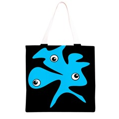 Blue amoeba Grocery Light Tote Bag