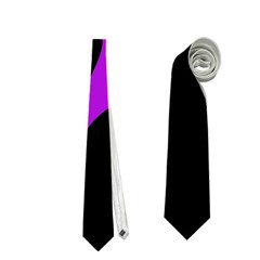 Purple amoeba Neckties (Two Side)