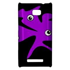 Purple amoeba HTC 8X