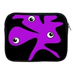 Purple amoeba Apple iPad 2/3/4 Zipper Cases